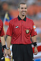 MLS Referee Mark Geiger during the team presentation. Los Angeles Galaxy defeated DC United 5-2, Saturday, August 26, 2006 at RFK Stadium.