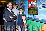 Bernie, Gary Joe and Fion McAulliffe checking out Lego City at Insomnia in the INEC on Saturday