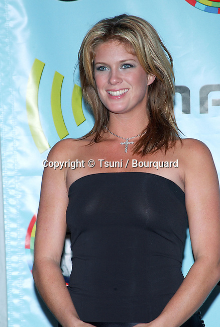 Rachel Hunter poses backstage at the 2001Radio Music Awards at the Aladdin Hotel in Las Vegas, Friday, Oct. 26, 2001.           -            HunterRachel19.jpg