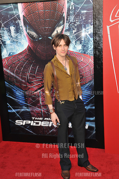 "Reeve Carney at the world premiere of ""The Amazing Spider-Man"" at Regency Village Theatre, Westwood..June 29, 2012  Los Angeles, CA.Picture: Paul Smith / Featureflash"