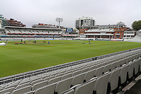 General view of the ground looking towards the pavilion ahead of Middlesex CCC vs Yorkshire CCC, Specsavers County Championship Division 1 Cricket at Lord's Cricket Ground on 20th September 2016