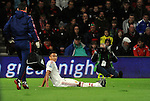Jesse Lingard of Manchester United leaves the game through injury<br /> - Barclays Premier League - Bournemouth vs Manchester United - Vitality Stadium - Bournemouth - England - 12th December 2015 - Pic Robin Parker/Sportimage
