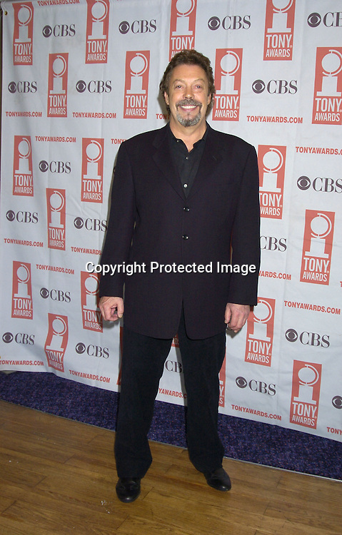 Tim Curry ..at The 2005 Tony Awards Nominees Meet the Press Reception on May 11, 2005 at The Marriott Marquis Hotel. ..Photo by Robin Platzer, Twin Images
