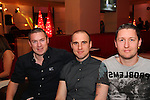 Brian Sullivan, Stephen Wearen and Graham King having a night in Bru.<br /> Picture: Shane Maguire / www.newsfile.ie