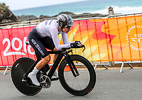 New Zealand's Linda Villumsen. Womens time trial. Commonwealth Games, Gold Coast, Australia. Tuesday 10 April, 2018. Copyright photo: John Cowpland / www.photosport.nz /SWpix.com /SWpix.com