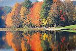 Fall colors at  Rose Valley Lake