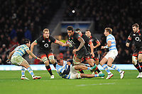 Courtney Lawes of England in action during the Old Mutual Wealth Series match between England and Argentina at Twickenham Stadium on Saturday 11th November 2017 (Photo by Rob Munro/Stewart Communications)