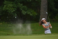 Sophia Schubert (a)(USA) hits from the trap on 1 during round 1 of the U.S. Women's Open Championship, Shoal Creek Country Club, at Birmingham, Alabama, USA. 5/31/2018.<br /> Picture: Golffile | Ken Murray<br /> <br /> All photo usage must carry mandatory copyright credit (&copy; Golffile | Ken Murray)