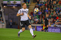 Marcel Halstenberg (Deutschland Germany) - 09.09.2019: Nordirland vs. Deutschland, Windsor Park Belfast, EM-Qualifikation DISCLAIMER: DFB regulations prohibit any use of photographs as image sequences and/or quasi-video.