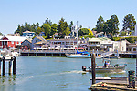 La Conner, waterfront, Swniomish Indians, commercial fishing, , Swinomish Channel,  Skagit County, Washington State,