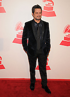 LAS VEGAS, NV - November 14: Alejandro Sanz attends the Latin Grammys Person of the Year red carpet arrivals at the MGM Grand on November 14, 2012 in Las Vegas, Nevada. Photo By Kabik/ Starlitepics/MediaPunch Inc. /NortePhoto