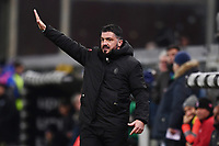 Gennaro Gattuso<br /> Genova 12-1-2019 Stadio Marassi <br /> Football Italy Cup 2018/2019 Sampdoria - Milan Foto Image Sport  / Insidefoto