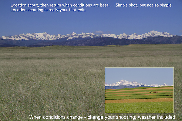 Location Scouting John offers private photo tours and workshops throughout Colorado. Year-round.