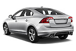 Car pictures of rear three quarter view of 2017 Volvo S60 R-Design 4 Door Sedan Angular Rear