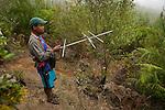radiotracking to find lemur. reserve de Ialatsara