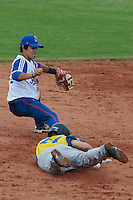 18 August 2010: Maxime Lefevre of Team France is seen during the France 7-3 win over Ukraine, at the 2010 European Championship, under 21, in Brno, Czech Republic.