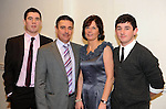 Shane, Harry, Anne and Cian O'Neill at  the Dr Crokes GAA Club Victory Celebration Night at the Inec, Killarney on Friday night. Picture: Eamonn Keogh (MacMonagle, Killarney)