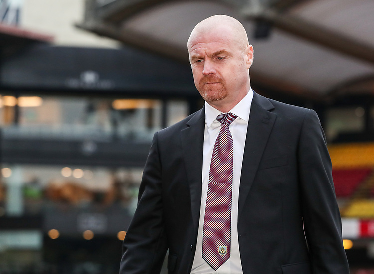 Burnley's manager Sean Dyche<br /> <br /> Photographer Andrew Kearns/CameraSport<br /> <br /> The Premier League - Watford v Burnley - Saturday 19 January 2019 - Vicarage Road - Watford<br /> <br /> World Copyright &copy; 2019 CameraSport. All rights reserved. 43 Linden Ave. Countesthorpe. Leicester. England. LE8 5PG - Tel: +44 (0) 116 277 4147 - admin@camerasport.com - www.camerasport.com