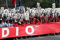 Cuba, Havana.<br /> Corteo del 1&deg; Maggio in Piazza Della Rivoluzione.<br /> Cuba, Havana.<br /> May Day parade in Revolution Square.