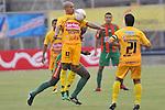 Partido empatado 1x1 en la liga postobon torneo apertura del futbol colombiano
