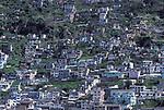 Old Quito, Shanty Town, Ecuador, South America, hillside