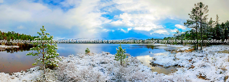 Loch Morlich and the Cairngorms with a fresh covering of snow.<br /> <br /> Image by: Malcolm McCurrach<br /> Fri, 19, December, 2014 |  &copy; Malcolm McCurrach 2014 |  Insertion and use fees apply |  All rights Reserved. picturedesk@nwimages.co.uk | www.nwimages.co.uk | 07743 719366