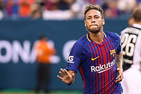 EAST RUTHERFORD, USA, 22.07.2017 - JUVENTUS-BARCELONA - Neymar comemora gol do Barcelona durante partida contra Juventus valido pela  International Champions Cup 2017 no MetLife Stadium na cidade de East Rutherford, New Jersey. (Foto: Vanessa Carvalho/Brazil Photo Press)