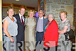 ESCORT: Kingdom Escort and winner of TG4 Feirm Factor Tom McGillicuddy at the Cu?il Di?din residential and nursing care, Tralee on Tuesday l-r: Caitriona O'Connor, Tom McGillicudy, Ena Galvin, Sonny Griffin, Judy O'Connor and Kitty Galvin.