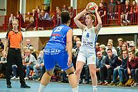 HAREN - Basketbal, Martini Sparks - Den Helder, Basketbal League vrouwen, seizoen 2018-2019, 08-11-2018, Martini Sparks speelster Roos Koopmans