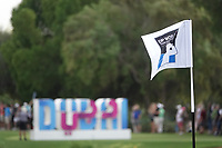 Pinflag during the first round of the DP World Championship, Earth Course, Jumeirah Golf Estates, Dubai, UAE. 21/11/2019<br /> Picture: Golffile | Phil INGLIS<br /> <br /> <br /> All photo usage must carry mandatory copyright credit (© Golffile | Phil INGLIS)