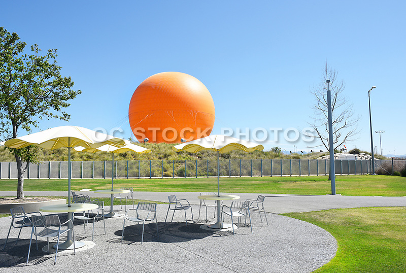 Great Park Picnic Tables Balloon Ride