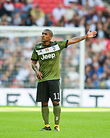 Juventus Douglas Costa during the pre season friendly match between Tottenham Hotspur and Juventus at White Hart Lane, London, England on 5 August 2017. Photo by Andrew Aleksiejczuk / PRiME Media Images.