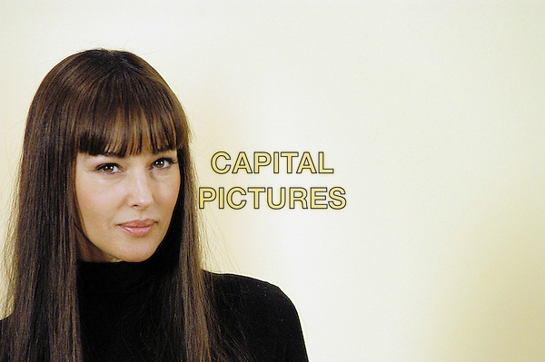 "MONICA BELLUCCI.Photocall at the Hotel de Russie promoting her new film ""For Sex Or Love?"" (Per Sesso O Per Amore?), Rome, Italy..January 25th, 2006.Ref: CAV.headshot portrait.www.capitalpictures.com.sales@capitalpictures.com.© Capital Pictures."