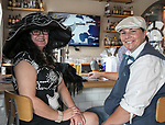 Tele Raack and Waneva Conner during the Kentucky Derby Party at The Depot on Saturday, May 6, 2017 in Reno, Nevada.