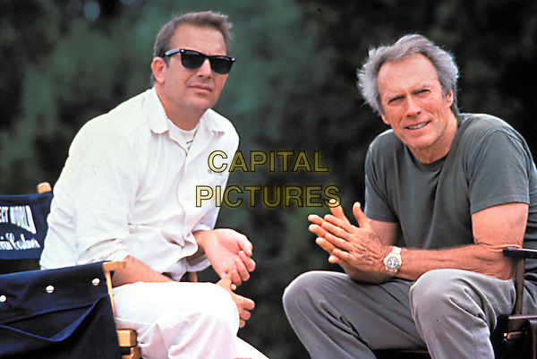 Kevin Costner & Clint Eastwood.in A Perfect World.*Filmstill - Editorial Use Only*.CAP/NFS.Supplied by Capital Pictures.