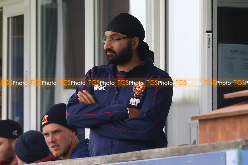Monty Panesar of Northants looks on during Essex CCC vs Northamptonshire CCC, Specsavers County Championship Division 2 Cricket at the Essex County Ground on 25th April 2016
