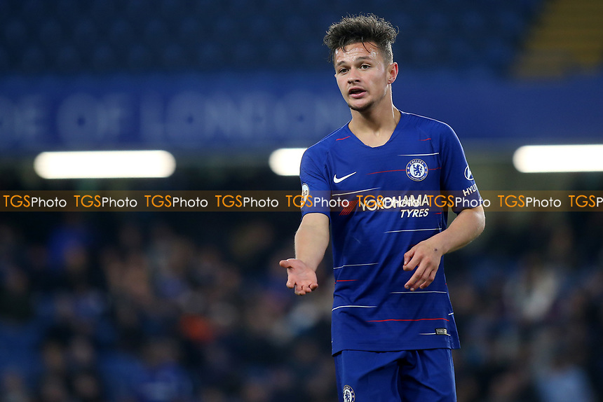 George McEachran of Chelsea during Chelsea Under-23 vs Arsenal Under-23, Premier League 2 Football at Stamford Bridge on 15th April 2019