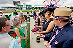 May 3, 2019 : Scenes from Kentucky Oaks Day at Churchill Downs on May 3, 2019 in Louisville, Kentucky. Scott Serio/Eclipse Sportswire/CSM