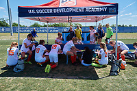 2018 Development Academy Bio-Banding, April 22, 2018