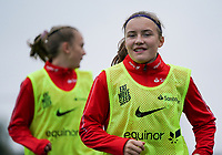 20191101 - Tubize: Player(s) is/are pictured during the international friendly match between Red Flames U16 (Belgium) and Norway U16 on 1 November 2019 at Belgian Football Centre, Tubize. PHOTO:  SPORTPIX.BE   SEVIL OKTEM