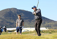 Gary Henry playing with Shubankar Sharma (IND) during the ProAm of the 2018 Dubai Duty Free Irish Open, Ballyliffin Golf Club, Ballyliffin, Co Donegal, Ireland.<br /> Picture: Golffile | Jenny Matthews<br /> <br /> <br /> All photo usage must carry mandatory copyright credit (&copy; Golffile | Jenny Matthews)