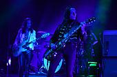 MIAMI FL - MAY 07: Jake Kiszka of Greta Van Fleet performs at Bayfront Park Amphitheater on May 7, 2019 in Miami, Florida. Photo by Larry Marano © 2019