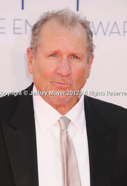 LOS ANGELES, CA - SEPTEMBER 23: Ed O'Neill  arrives at the 64th Primetime Emmy Awards at Nokia Theatre L.A. Live on September 23, 2012 in Los Angeles, California.