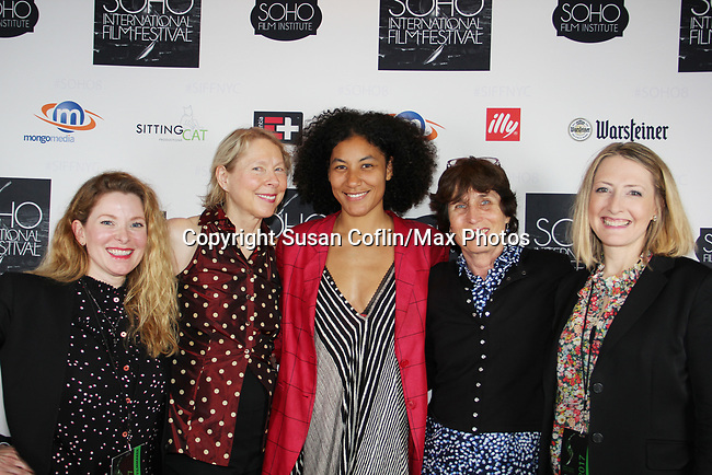 Cady McClain, Sarah Kernochan, Naima Ramos-Chapman, Anne Makepeace ,Kate Super -  Seeing is Believing: Women Direct at its East Coast Premiere at Soho International Film Festival on June 19, 2017 in New York City, New York.(Photos by Sue Coflin/Max Photos)