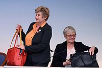 Roma, 24 Marzo 2016<br /> Conferenza stampa dei sindacati al termine dell'incontro straordinario ospitato a Palazzo Chigi tra le Parti sociali europee e le Istituzioni Ue.<br /> Susanna Camusso segretario CGIL, Annamaria Furlan segretario CISL.