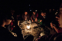 In the night the scouts go out in the forest for the activity Dream. The dark will remove the g