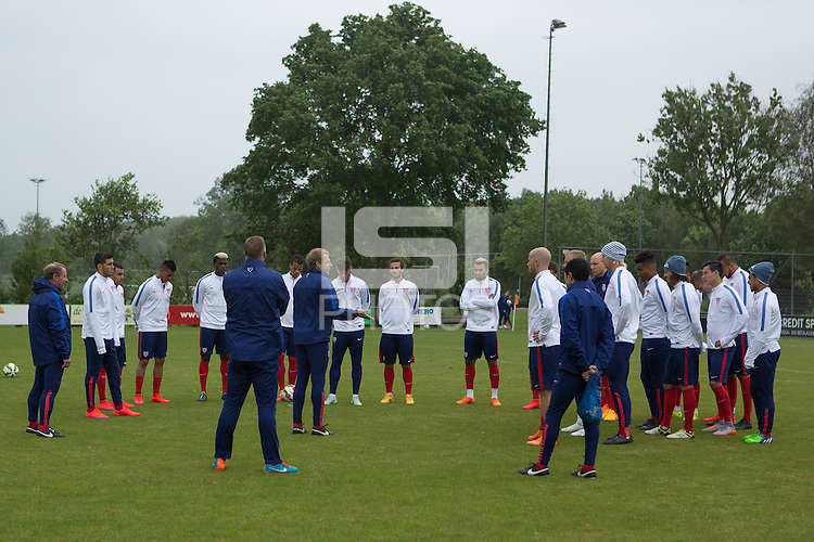 Amstelveen, Netherlands - Tuesday, June 2, 2015: The USMNT train in preparation for their international friendly vs Netherlands at Sportpark Het Loopveld.
