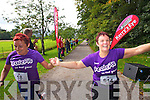 Josephine Blair and Margaret Riordan who took part in the Killarney Women's Mini Marathon on Saturday last.