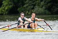 MasC.2x QF -  Berks: 215 Trafford RC -  Bucks: 216 Guildford RC<br /> <br /> Friday - Henley Masters Regatta 2016<br /> <br /> To purchase this photo, or to see pricing information for Prints and Downloads, click the blue 'Add to Cart' button at the top-right of the page.