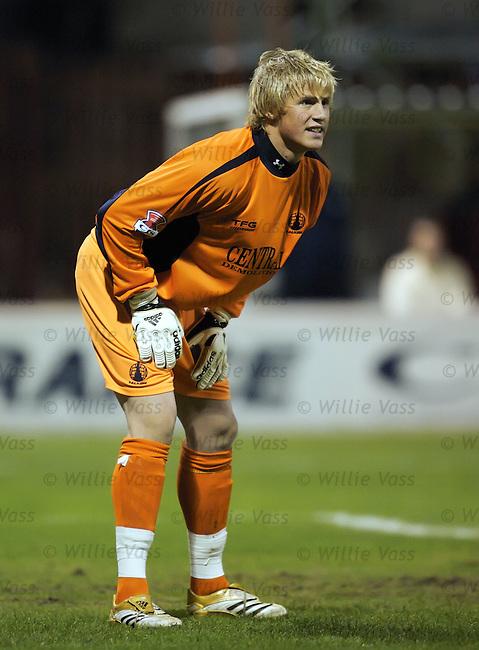 Kasper Schmeichel, Falkirk.stock season 2006-2007.pic willie vass